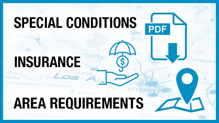 Area Requirements – FilmLA