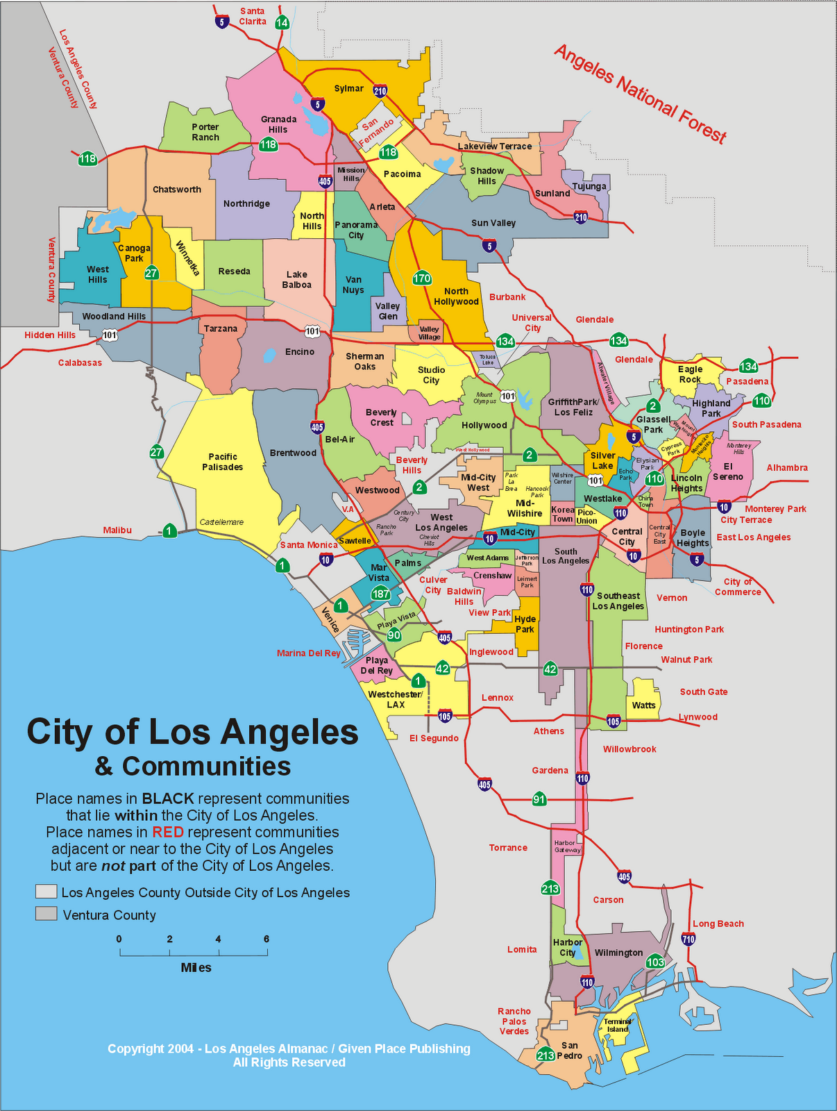 Los Angeles Map Png.Tools And Resources Filmla