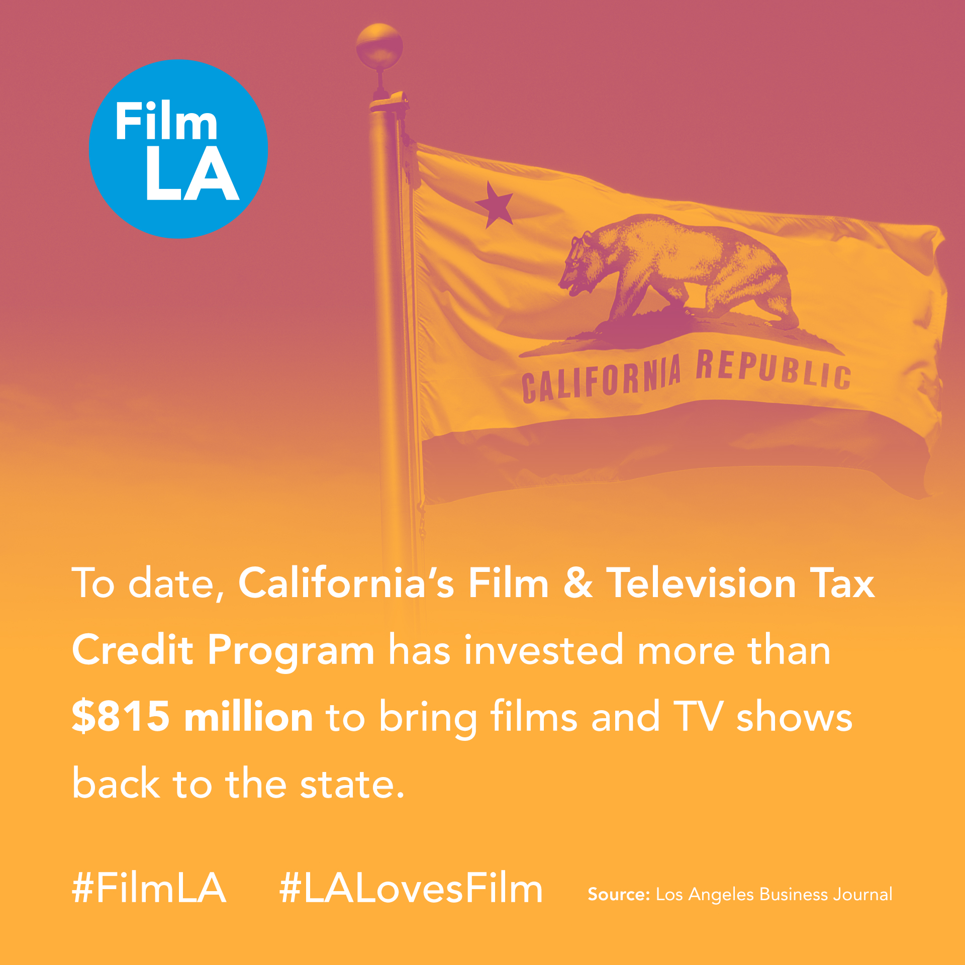 California Film and TV Tax Credit